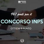 Concorso INPS – Certificazioni Informatiche 1 punto