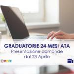 GRADUATORIE 24 MESI PERSONALE ATA 2021, PRESENTAZIONE DOMANDE DAL 23 APRILE